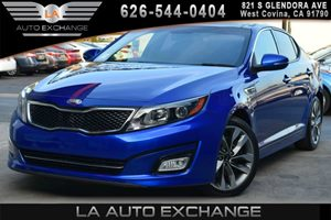 2015 Kia Optima SX Turbo Carfax 1-Owner - No AccidentsDamage Reported 2 12V Dc Power Outlets 2