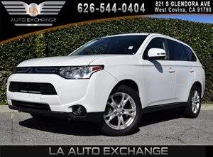 2014 Mitsubishi Outlander SE Carfax 1-Owner - No AccidentsDamage Reported 1 Seatback Storage Poc