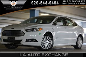 2013 Ford Fusion Energi Titanium Carfax 1-Owner - No AccidentsDamage Reported  Oxford White