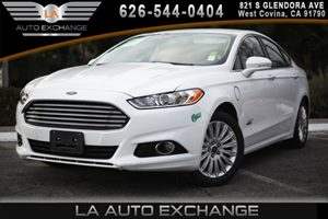 2013 Ford Fusion Energi Titanium Carfax 1-Owner - No AccidentsDamage Reported 10-Way Pwr Driver