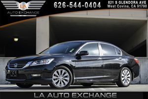 2013 Honda Accord Sdn EX-L Carfax 1-Owner 12V Pwr Outlets 4 Cylinders 8 Multi-Info Display -I