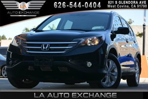2013 Honda CR-V EX-L Carfax 1-Owner - No AccidentsDamage Reported  Crystal Black Pearl 2354