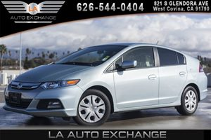 2013 Honda Insight LX Carfax 1-Owner - No AccidentsDamage Reported 12V Pwr Outlet 4 Cylinders