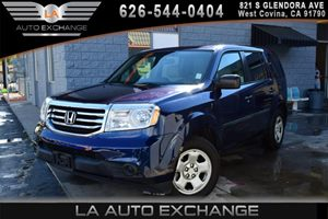 2013 Honda Pilot LX Carfax Report - No AccidentsDamage Reported 12 Cup Holders 3 12V Aux Pw