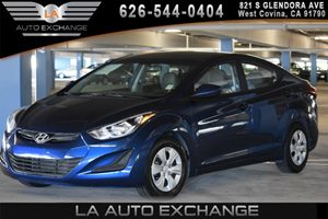2016 Hyundai Elantra SE Carfax 1-Owner - No AccidentsDamage Reported 2 12V Dc Power Outlets 4 C