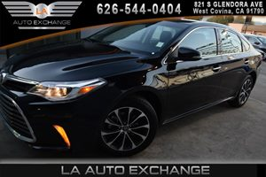 2016 Toyota Avalon XLE Carfax 1-Owner - No AccidentsDamage Reported  Midnight Black Metallic