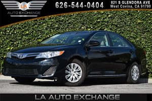 2014 Toyota Camry LE Carfax 1-Owner 4 Cylinders Air Conditioning  AC Audio  Cd Player Body-