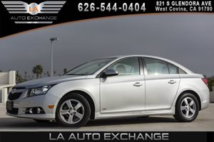 2014 Chevrolet Cruze 1LT Carfax 1-Owner - No AccidentsDamage Reported 4 Cylinders Air Condition