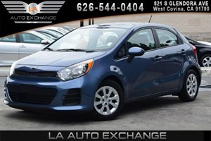 2016 Kia Rio LX Carfax 1-Owner - No AccidentsDamage Reported 2 12V Dc Power Outlets 2 Seatback