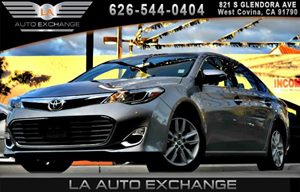 2015 Toyota Avalon XLE Carfax 1-Owner 2 Seatback Storage Pockets 5 Person Seating Capacity 6 Cy