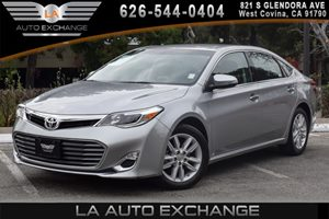2015 Toyota Avalon XLE Carfax 1-Owner 5 Person Seating Capacity 6 Cylinders Air Conditioning