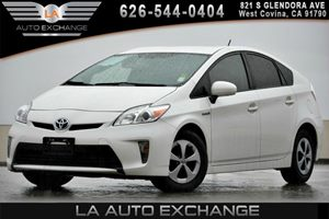 2014 Toyota Prius Three Carfax 1-Owner 2 12V Dc Power Outlets 4 Cylinders 60-40 Folding Bench F