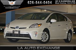2013 Toyota Prius Plug-In  Carfax 1-Owner  Super White 19646 Per Month -ON APPROVED CREDIT-