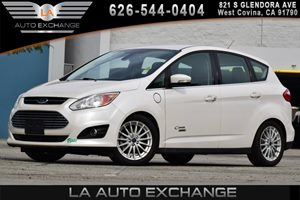 2013 Ford C-Max Energi SEL Carfax 1-Owner 120V Charge Cord 17 Machined Aluminum Wheels 4 Cyli