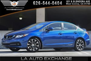 2013 Honda Civic Sdn Si Carfax 1-Owner - No AccidentsDamage Reported 2-Tier Instrument Panel WR