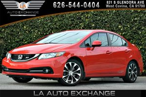 2013 Honda Civic Sdn Si Carfax 1-Owner 2-Tier Instrument Panel WRed Backlit Gauges -Inc Tachome