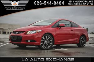 2013 Honda Civic Cpe Si Carfax Report - No AccidentsDamage Reported 2-Tier Instrument Panel WRe