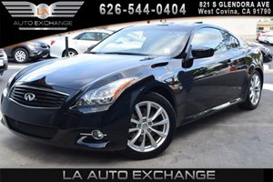 2014 Infiniti Q60 Coupe Journey Carfax 1-Owner - No AccidentsDamage Reported 2 12V Dc Power Outl