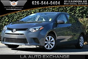 2014 Toyota Corolla LE Carfax 1-Owner 1 12V Dc Power Outlet 4 Cylinders 4-Way Passenger Seat 6