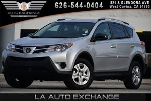 2013 Toyota RAV4 LE Carfax 1-Owner  Classic Silver Metallic  WeGre Thankful for You WeGre