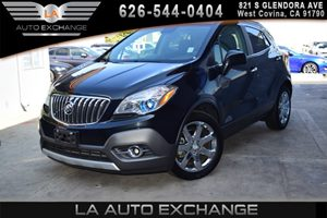 2013 Buick Encore Leather Carfax 1-Owner - No AccidentsDamage Reported 4 Cylinders Air Conditio