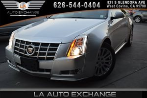 2013 Cadillac CTS Coupe Performance Carfax 1-Owner - No AccidentsDamage Reported  Radiant Silv