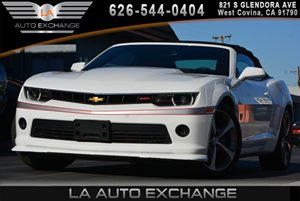 2015 Chevrolet Camaro 2LT Carfax 1-Owner - No AccidentsDamage Reported  Summit White 307 Per