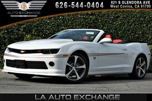 2015 Chevrolet Camaro 2LT Carfax 1-Owner - No AccidentsDamage Reported 6 Cylinders Air Conditio