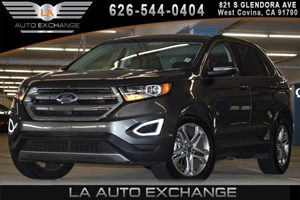 2016 Ford Edge Titanium Carfax 1-Owner  Gray  WeGre Thankful for You WeGre saying Happy T