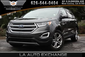2016 Ford Edge Titanium Carfax 1-Owner  Gray 33228 Per Month -ON APPROVED CREDIT------