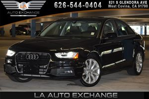 2014 Audi A4 Premium Carfax 1-Owner - No AccidentsDamage Reported 2 Seatback Storage Pockets 4