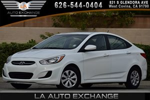 2016 Hyundai Accent SE Carfax 1-Owner - No AccidentsDamage Reported 4 Cylinders 60-40 Folding B