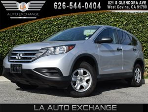 2013 Honda CR-V LX Carfax 1-Owner 4 Cargo Area Tie-Down Anchors 8 Cup Holders 12V Pwr Outle