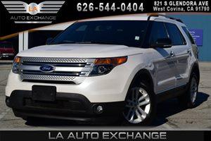 2014 Ford Explorer XLT Carfax 1-Owner 2 Seatback Storage Pockets 4 12V Dc Power Outlets 6 Cylin