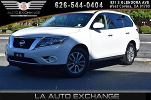 2014 Nissan Pathfinder S Carfax 1-Owner 2 12V Dc Power Outlets 6 Cylinders Aero-Composite Halog