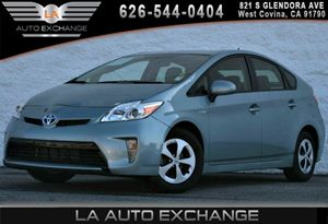 2014 Toyota Prius Four Carfax 1-Owner 2 12V Dc Power Outlets 4 Cylinders 5 Person Seating Capac
