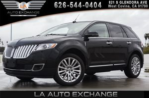 2013 Lincoln MKX  Carfax 1-Owner 2 Coat Hooks 3 Assist Handles 17 Spare Tire 2-Speed Rea