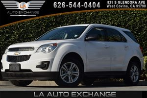 2014 Chevrolet Equinox LS Carfax 1-Owner - No AccidentsDamage Reported 4 Cylinders Air Conditio