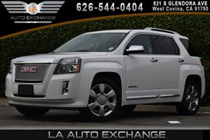 2014 GMC Terrain Denali Carfax 1-Owner  Summit White  We are not responsible for typographical