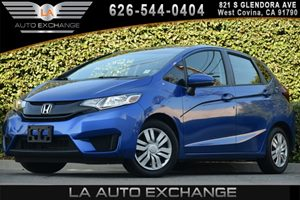 2015 Honda Fit LX Carfax 1-Owner 1 Seatback Storage Pocket 4 Cylinders 4-Way Passenger Seat -In