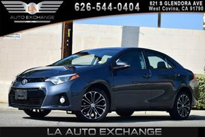 2014 Toyota Corolla S Carfax 1-Owner - No AccidentsDamage Reported  Blue Crush Metallic  We a