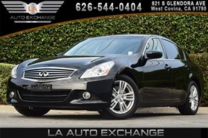 2013 Infiniti G37 Sedan Journey Carfax 1-Owner 2 Rear Seat Coat Hooks 6 Cylinders Air Conditi