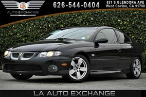 2004 Pontiac GTO  Carfax Report 8 Cylinders Air Conditioning  AC Antenna In-Glass Rear Wind
