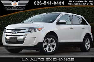 2013 Ford Edge SEL Carfax 1-Owner  White Platinum Tri-Coat Metallic  We are not responsible fo