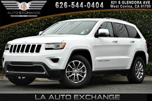 2015 Jeep Grand Cherokee Limited Carfax 1-Owner 2 Seatback Storage Pockets 3 12V Dc Power Outlet