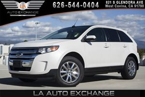 2013 Ford Edge SEL Carfax 1-Owner 2 Coat Hooks 4 12V Aux Pwr Outlets 6 Cylinders Air Condi