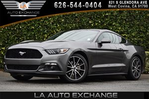 2016 Ford Mustang EcoBoost Premium Carfax 1-Owner 2 12V Dc Power Outlets 4 Cylinders 50-50 Fold