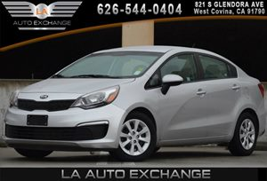 2016 Kia Rio LX Carfax 1-Owner - No AccidentsDamage Reported 2 12V Dc Power Outlets 4 Cylinders