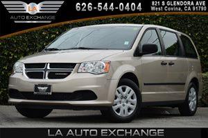 2014 Dodge Grand Caravan American Value Pkg Carfax 1-Owner - No AccidentsDamage Reported 2 Seatb