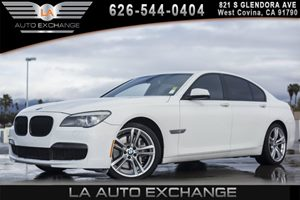2012 BMW 7 Series 750i Carfax Report 8 Cylinders Adaptive Brake Lights Air Conditioning  AC